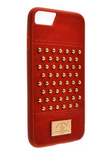 чехол-НАКЛАДКА  POLO Staccato (Leather) iPhone 7 /8 red
