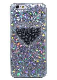чехол-НАКЛАДКА Diamond Hearts New (TPU) iPhone 7/8