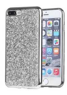 Накладка IPHONE7 plus TBW Rock Crystal TPU silver