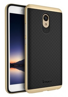 Чехол iPaky TPU+PC Meizu M5 gold