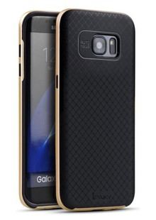 Чехол iPaky TPU+PC Samsung S8 gold