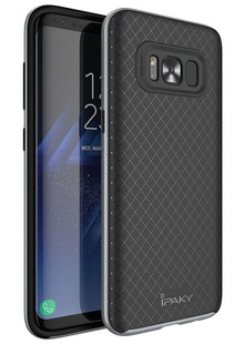 Чехол iPaky TPU+PC Samsung S8 grey