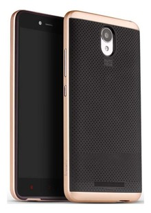 Чехол iPaky TPU+PC Xiaomi Redmi Note 2 gold
