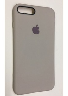 Накладка IPHONE 8 plus Silicone case Dove gray