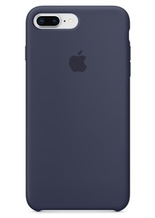 Накладка IPHONE 8 plus Silicone case Midnight Blue
