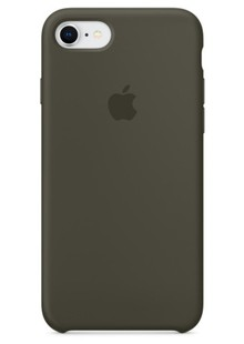 Накладка IPHONE 8 plus Silicone case Olive Grab