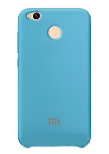 Original Soft Case for Xiaomi Redmi 4A Light Blue