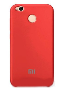 Original Soft Case for Xiaomi Redmi 4X Red