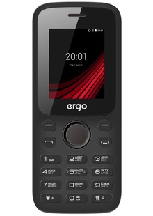 ERGO F182 POINT DUAL SIM ВLACK