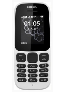 Nokia 105 DS White