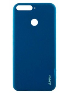 Силикон Inavi SIMPLE COLOR Huawei Y7 Prime (2018) голубой