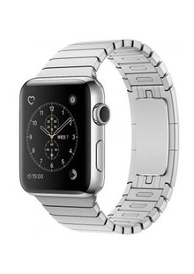 Apple Watch Series 2 42mm Stainless Steel Case with Silver Link Bracelet (MNPT2)