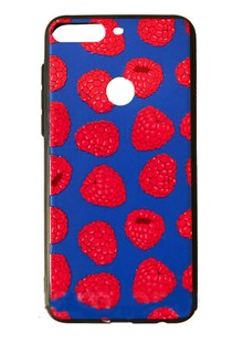 Накладка Pic for Huawei Y6 Prime 2018 Raspberries