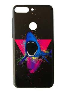 Накладка Pic for Huawei Y6 Prime 2018 Shark
