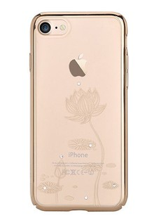 Devia Crystal Lotus for iPhone 7 Champagne Gold