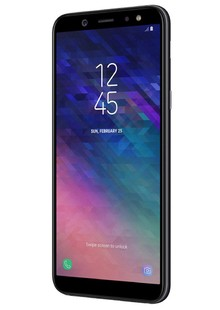 Смартфон Samsung Galaxy A6 plus 2018 A605F (black)