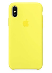 Накладка IPHONE X Silicone case Flash 1in1