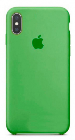 differently e530d a1ae3 Накладка IPHONE X Silicone case Marine Green 1:1 - MobiStyle ...