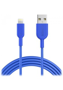 USB cable ANKER Powerline II Lightning - 1.8m V3 blue