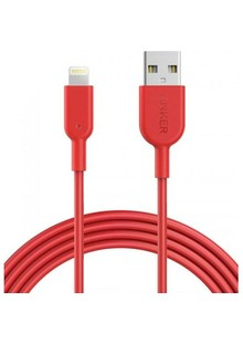 USB cable ANKER Powerline II Lightning - 1.8m V3 red