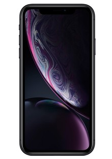 Apple iPhone XR Dual Sim 64GB Black (MT122)