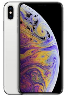 Apple iPhone XS Max Dual Sim 64GB Silver (MT722)