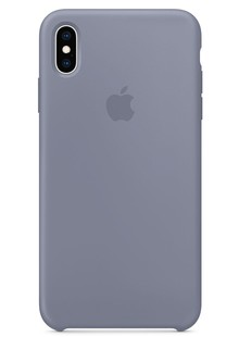 Silicone Case iPhone Xs Max (lavender gray)