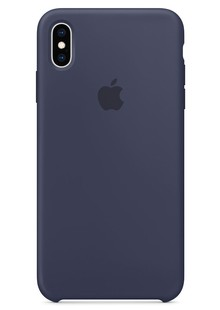 Silicone Case iPhone Xs Max midnight blue
