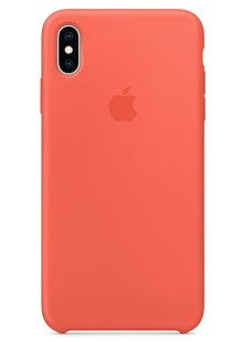 Silicone Case iPhone Xs Max nectarine