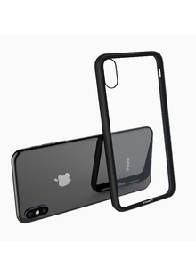 Tempering glass case iPhone Xs Max (black)