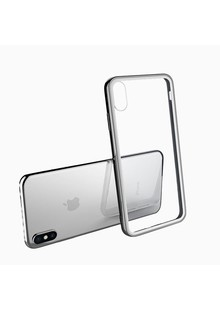 Tempering glass case iPhone Xs Max (white)