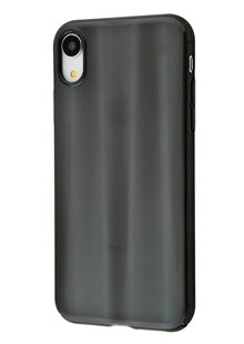 Baseus Aurora Case (PC) iPhone Xr (black)