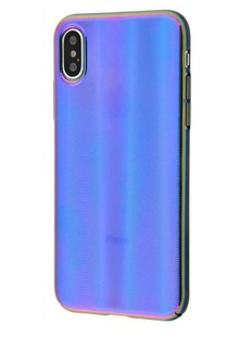 Baseus Aurora Case (PC) iPhone Xr (blue)