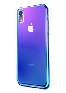 Baseus Glow Case (TPU) iPhone Xr (blue)