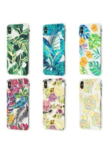 Beautiful plants case (TPU) iPhone Xs Max