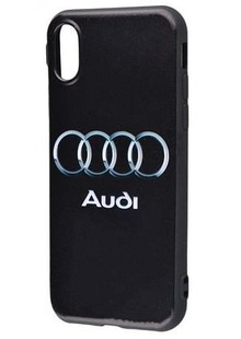Car Brands/Khaki (TPU) iPhone X (audi)