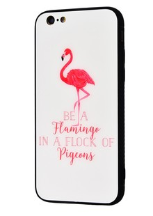 Glass case My Style New iPhone Xs Max (be a flamingo)