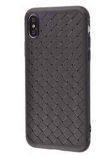 Weaving Case (TPU) iPhone Xs Max (black)