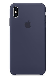 Чехол iPhone Xs Max - Silicone Case - Midnight Blue (MRWG2)