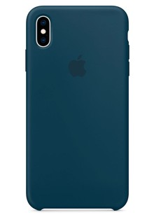 Silicone Case iPhone Xs Max (Pacific Green)