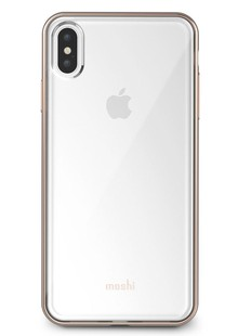 Moshi Vitros Slim Clear Case Champagne Gold for iPhone XS Max
