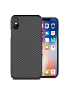 Карбоновая накладка Nillkin Synthetic Fiber series для Apple iPhone XS Max (6.5