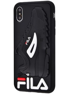 Fila and Supreme case iPhone X/Xs (fila black)