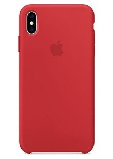 Чехол iPhone Xs - Leather Case - (PRODUCT)RED (MRWK2)