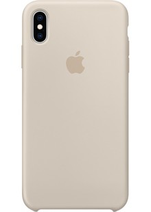 Silicone Case iPhone Xs (Stone)
