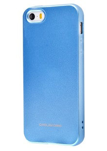 Molan Cano Glossy Jelly Case iPhone 5/5s/SE (blue)