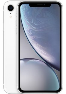 Apple iPhone XR Dual Sim 64GB White (MT132)