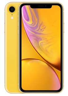 Apple iPhone XR Dual Sim 64GB Yellow (MT162)