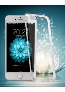 Diamond EDGE Selicone Iphone 5 silver