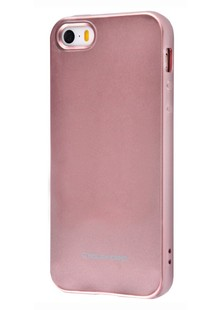 Molan Cano Glossy Jelly Case iPhone 5/5s/SE (rose gold)